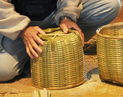 Yame Bamboo Basket Reinforcement