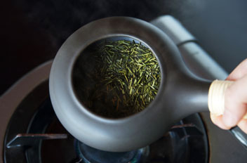 08. Roasted Green Tea(Hoji cha) Making